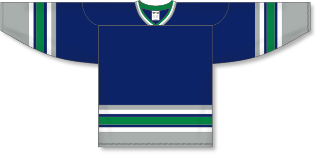 Hartford Whalers Style Team Color Hockey Jersey