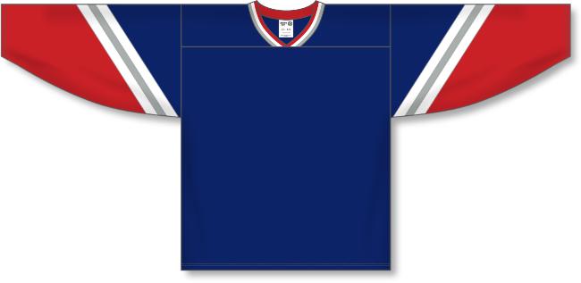 New York Rangers Style Alternate Throwback Hockey Jersey