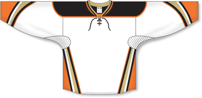 Anaheim Ducks Style White Hockey Jersey