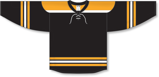 Boston Bruins Style Team Color Hockey Jersey