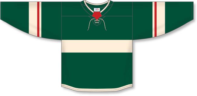 Minnesota Wild Style Team Color Hockey Jersey