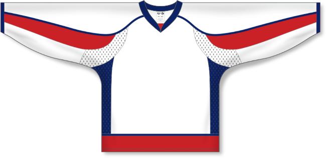 Washington Capitals Style White Hockey Jersey