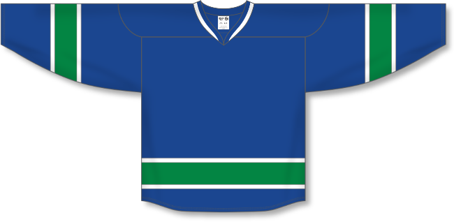 Vancouver Canucks Style Team Color Hockey Jersey