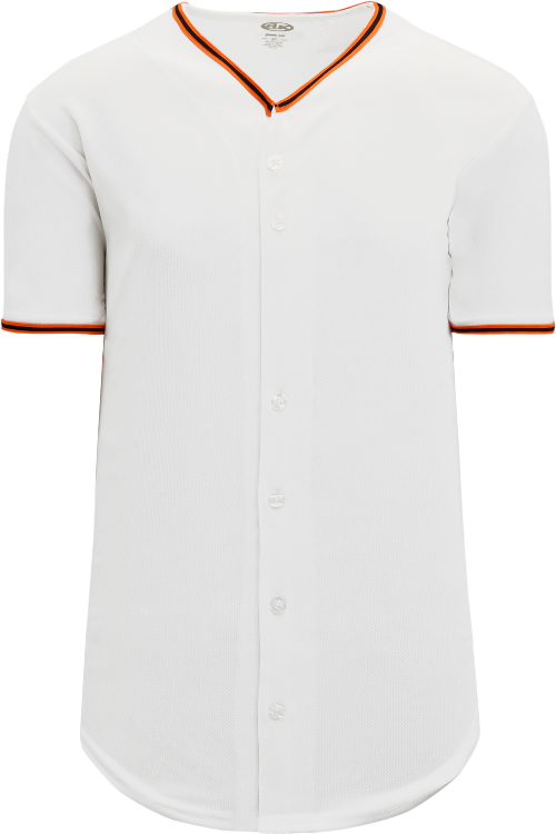 San Francisco Giants Style Full Button MLB Style Home Jersey