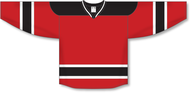 New Jersey Devils Style Team Color Throwback Hockey Jersey