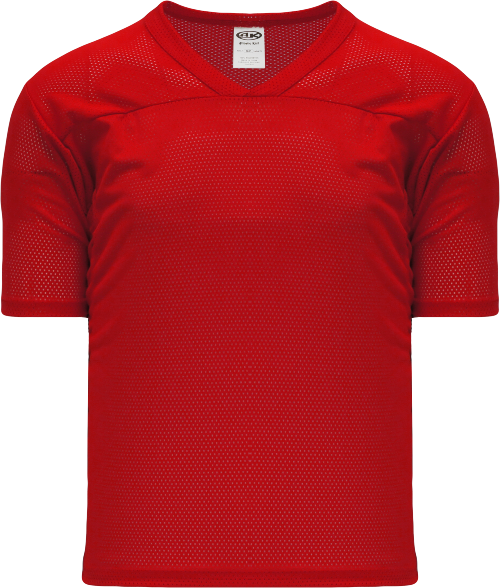 Adult TF151 Blank Touch Football Jersey - Red