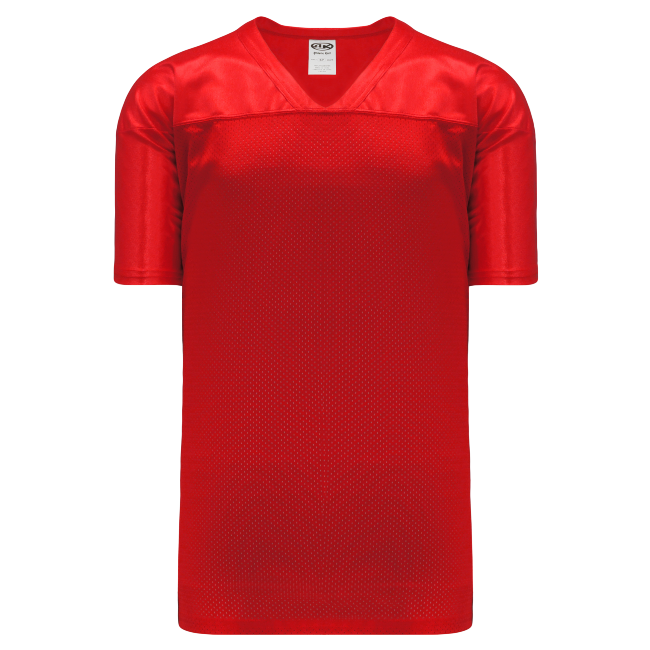Adult F810 Blank Football Jersey - Red