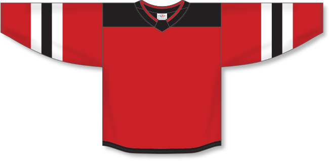 New Jersey Devils Style Team Color Hockey Jersey