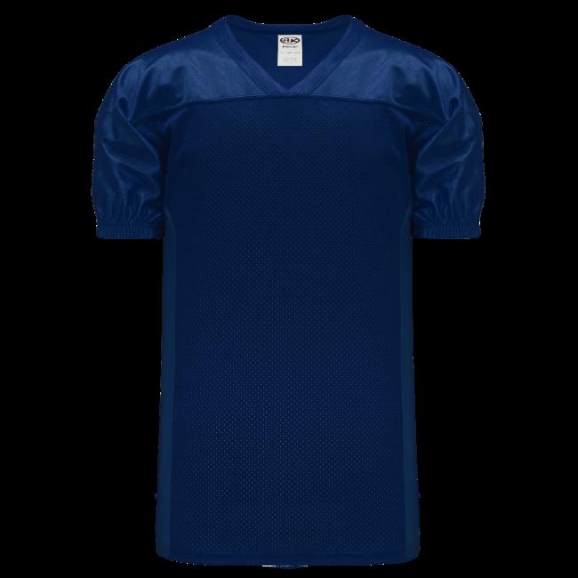 Adult F820 Blank Football Jersey - Navy Blue