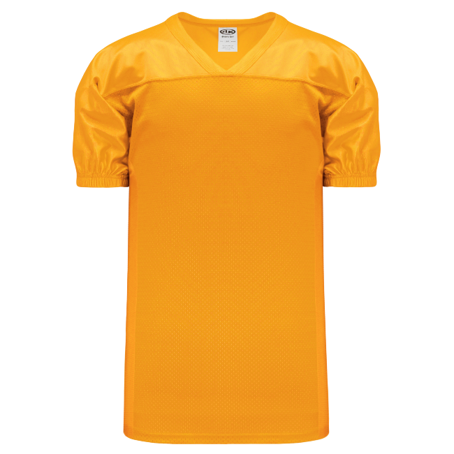Adult F820 Blank Football Jersey - Gold