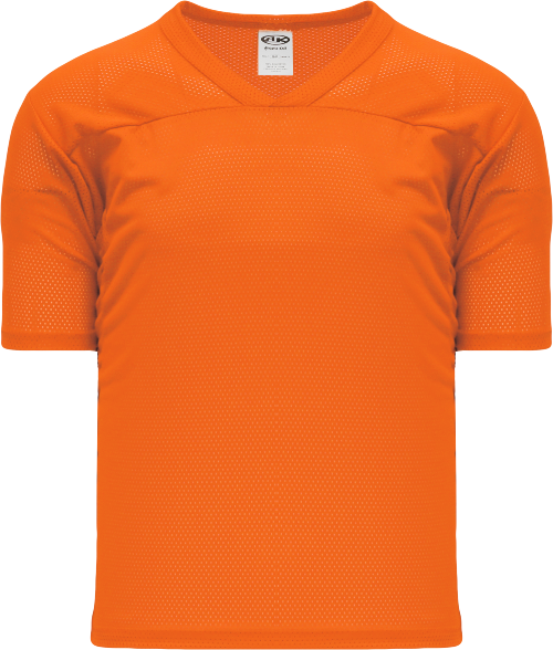 Adult TF151 Blank Touch Football Jersey - Orange