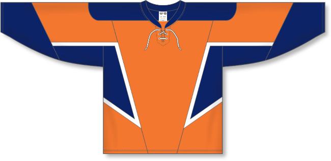 New York Islanders Style Team Color Throwback Hockey Jersey