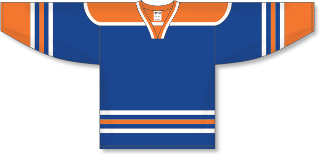 Edmonton Oilers Style Team Color Throwback Hockey Jersey