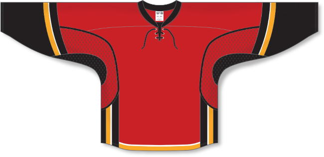 Calgary Flames Style Team Color Hockey Jersey
