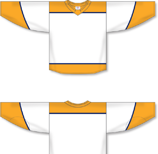 Nashville Predators Style White Hockey Jersey