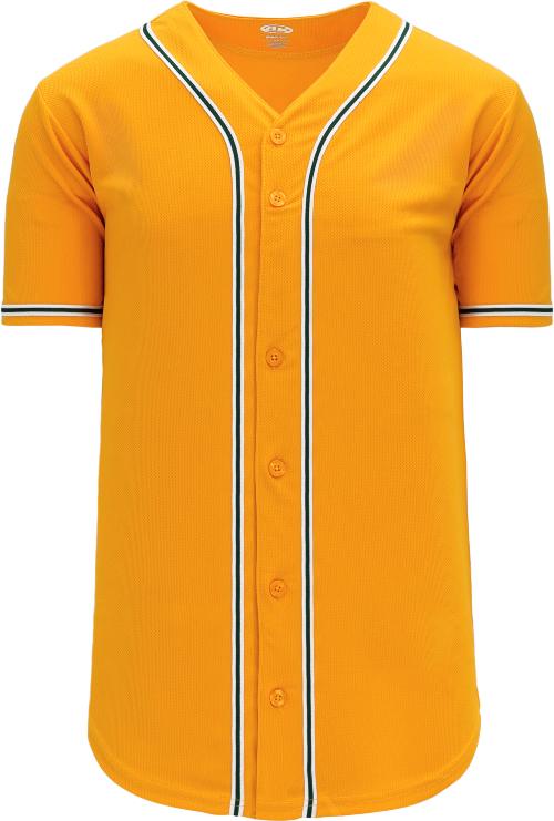 Oakland Athletics Style Full Button MLB Style Road Jersey