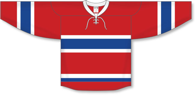 Montreal Canadiens Style Team Color Hockey Jersey