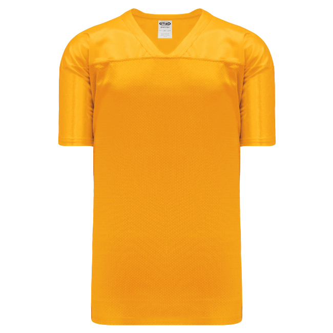 Adult F810 Blank Football Jersey - Gold
