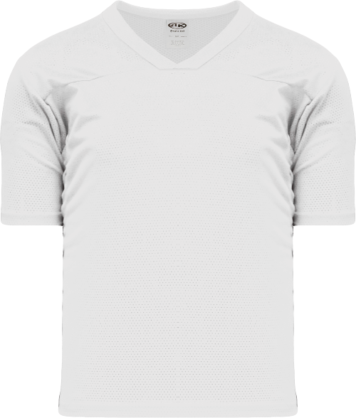Adult TF151 Blank Touch Football Jersey - White