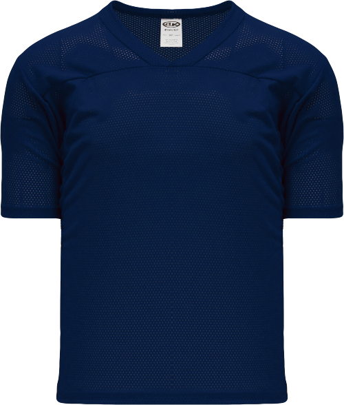 Adult TF151 Blank Touch Football Jersey - Navy Blue