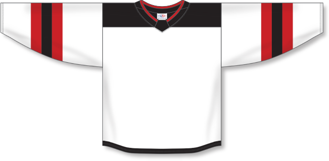 New Jersey Devils Style White Hockey Jersey
