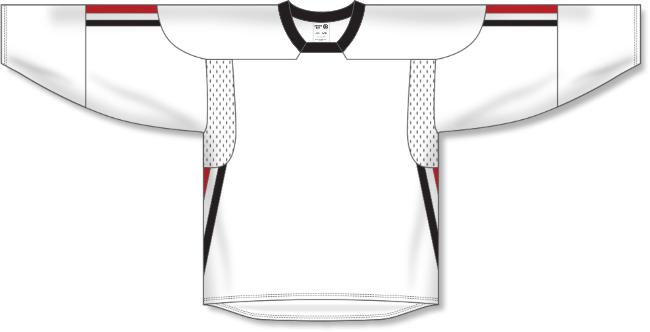 Team Canada Style Olympics 2006 White Hockey Jersey