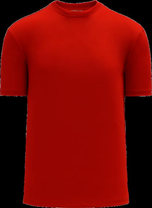 Basic Pullover Baseball Jersey - Red