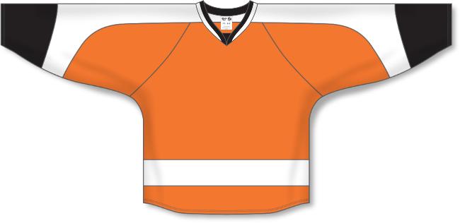 Philadelphia Flyers Style Team Color Hockey Jersey