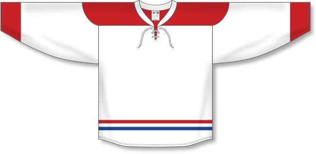 Montreal Canadiens Style White Hockey Jersey